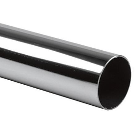 Рейлинговая система хромированных труб D=16 мм.
